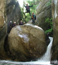 Canyoning - Une nature surprenante