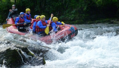 White Water Rafting - Saanen-gorge