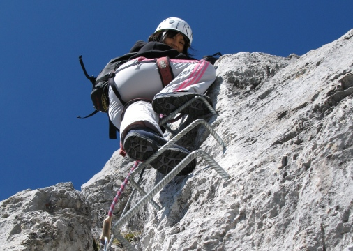 Via Ferrata - Gstaad